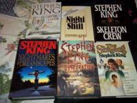 hard back with covers stephen king books for sale ,