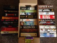 A collection of 31 Stephen King hardcovers. Consists of