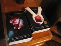 Twilight Soft cover Books $4 each In great condition