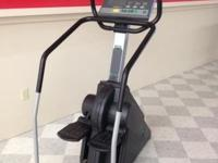 This post showcases a Precor 764 Stepper. It has