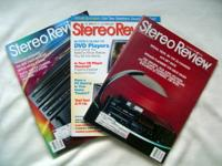 "I have for sale or trade 87 issues of ""Stereo Review"""