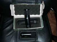 Up for sale are two recording condensor microphones.