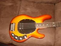 Up for sale is a Sterling Ray 34 bass made by Music