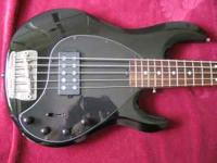 This bass is in perfect condition. It is a 5 string