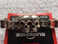 Outrider Skull Chain Bracelet This ad was posted with