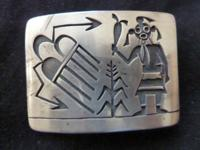 From the early 1970s or late 1960s Hopi Indian belt