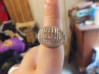 Sterling Silver ring very cute