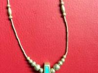 I have a lot of sterling silver w/turquoise and other