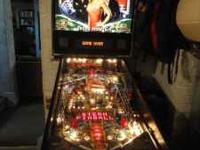Stern World Series of Poker Tour Pinball Machine. Texas