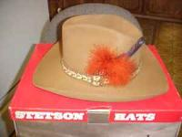 stetson hat for sale in California Classifieds   Buy and Sell in ... b2a08ca88e46