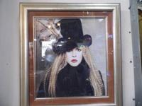 Attractive Framed Stevie Nicks Picture. of Fleetwood