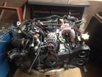I have a STI version 4 jdm engine with only 30,000