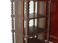 Good antique oak bookcase made by Stickley Brothers.