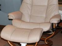 This is for a Stickley floral chair with ottoman. Chair