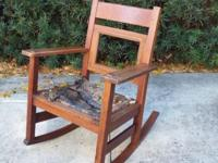 Stickley Brothers Quaint Line Rocking Chair. From 1908