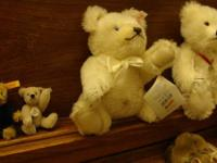 Up for sale is my Steiff Bear collection I collected