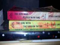The Girl With The Dragon Tattoo series. Great