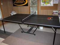 we are posting a stiga ping pong table w/ accessories