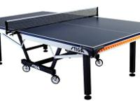 We have a new Stiga STS 420 Ping Pong Table. If you are