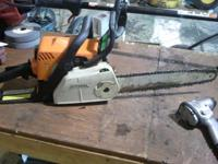 "Stihl ms 180 c 14""  $150 obo // //]]> Location: tulsa"