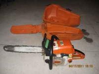 This saw is in good working condition, it is a 029 and