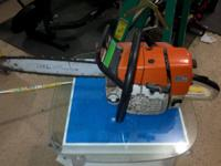 Stihl MS 361 Runs great! Cleaning out garage $ 350.00