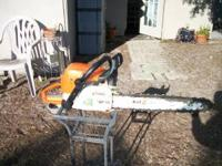 MS290 FARM BOSS 18 INCH BAR AND CHAIN USED THIS SAW FOR