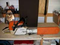 STIHL PROFESSIONAL GRADE LAST FOR EVER CHAINSAW THE