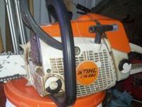 Here for sale is my Stihl ms280 chainsaw with a newer