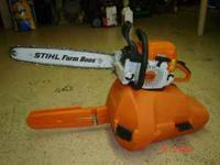 I have a stihl ms290 chainsaw with a 20 inch bar. This