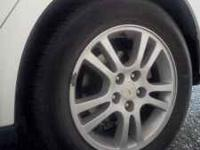 I have 4 rims with tires from my pontiac g6 the fairly