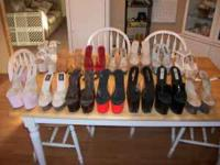 Gently used stilletos for sale, assorted styles and