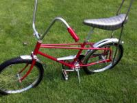 RESTORED MAYBE A HIAWATHA STING RAY BIKE AROUND 1969