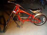STINGRAY CHOPPER Bicycle by Schwinn..This is a heavy