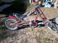 stingray chopper bike for sale, used condition. please
