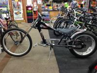 We have a fun bike for a kid/teen that they make sure