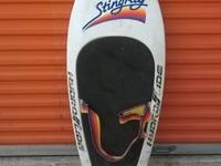 I have a cool Stingray kneeboard for sale. The plastic