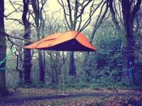 Tenstile Tree Tent, Stingray. Suspends above the