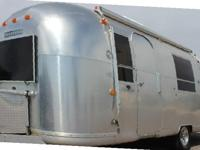 Make no mistake, this Airstream Travel Trailer is