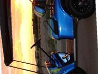 2004 GAS EZ-GO GOLF CART w/ ALL UPGRADES TWIN CYLINDER