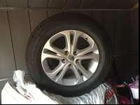"18"" stock alloy rim for a 2013 Dodge Durango with"