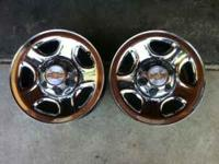 2005 CHEVY SILVERADO Wheels SILVERADO Rims Asking Size: