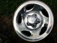 2002 F-150 2 wheel drive stock chrome wheels all 4