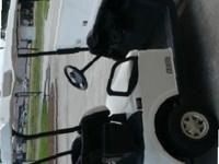 2010 EZGO RXV 48 VOLT GOLF CARTSWHITE SEATS AND