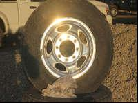 Bridgestone Dueller A/T 245/75/R16. These came off a