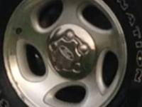 I have these stock alloy wheels id prefer to trade for