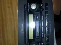 I AM SELLING A STOCK STEREO OUT OF A 2003 ACURA RSX.