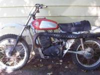 1974 Husky wr400 go to my website for more info