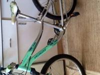 Stolen specialized bicycle Aqua color with the name