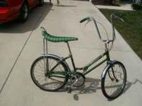 Very rare bike, Looks just like this one but is aged